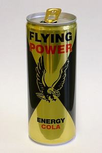 Flying Power Energy Cola - by www.deepsonic.ch, 22.03.2012