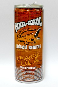 Mad Croc Orange Cola - by www.deepsonic.ch, 12.06.2013
