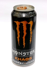 Monster Energy Khaos 473ml - by www.deepsonic.ch, 30.12.2010