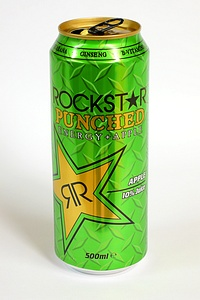 Rockstar Punched Apple 500ml - by www.deepsonic.ch, 30.10.2009