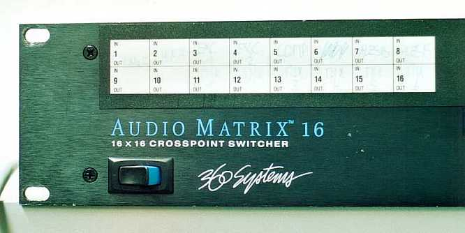 360 Systems Audio Matrix AM16 by deep!sonic 06.2002