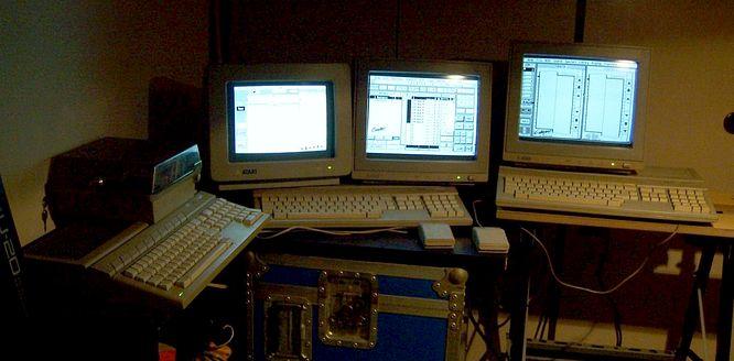 Atari 1040STE Trilogy by Morpheus2027 Italy