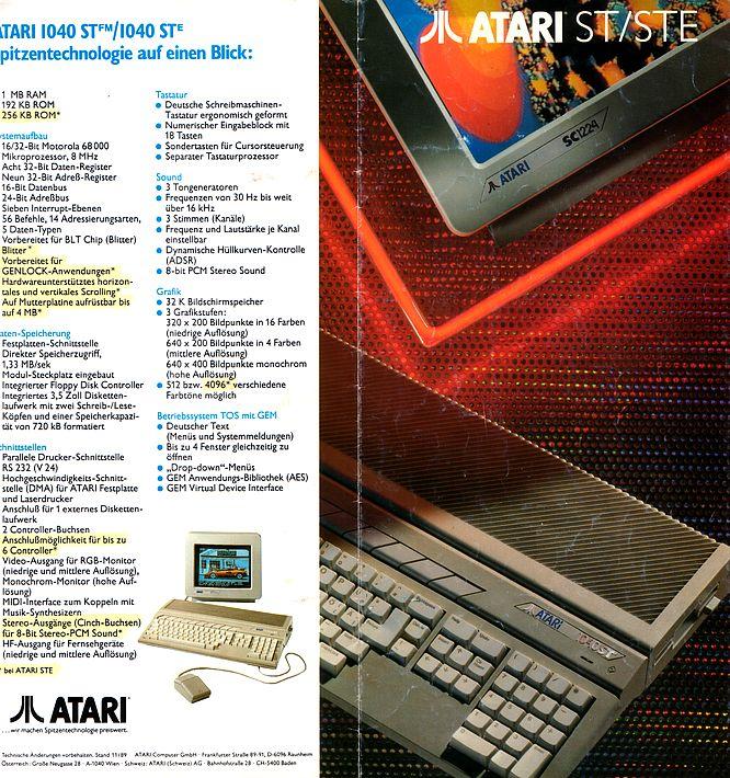 Atari Brochure 11.1989 - Scan by deep!sonic 01.2005
