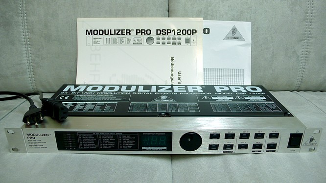 Behringer Modulizer Pro DSP1200P by deep!sonic 16.03.2007