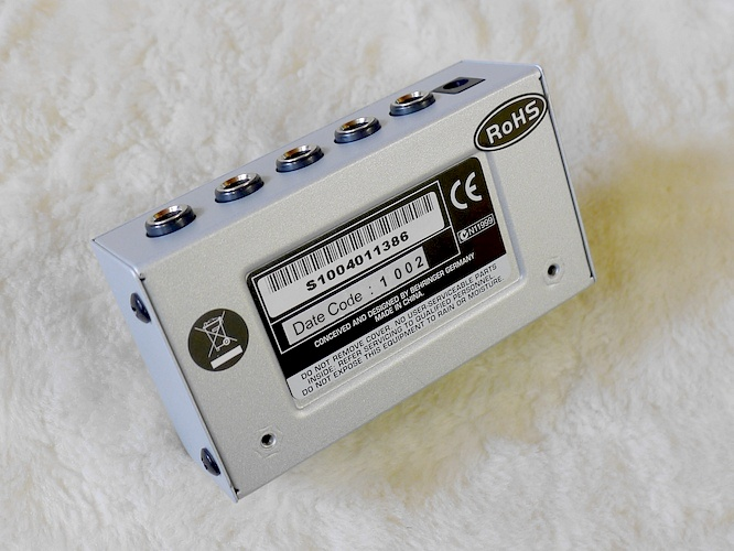 Behringer microAMP HA400 by deep!sonic 16.09.2010