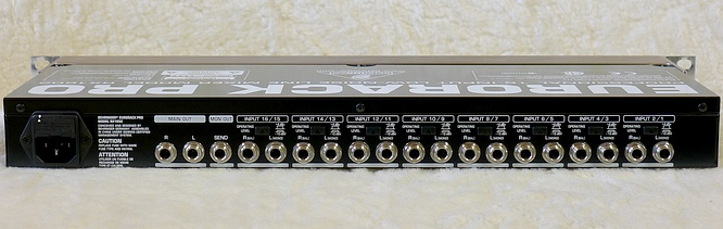 Behringer RX1602 RX-1602 by deep!sonic 18.04.2011