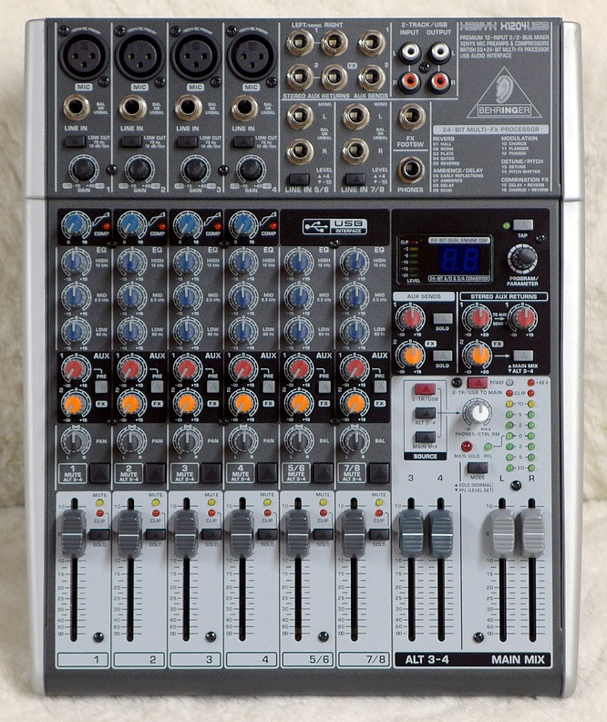 Behringer Xenyx X1204USB by deepsonic 14.12.2017