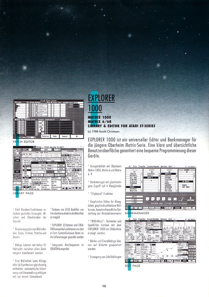 C-Lab Brochure - Scan by deep!sonic 01.2005