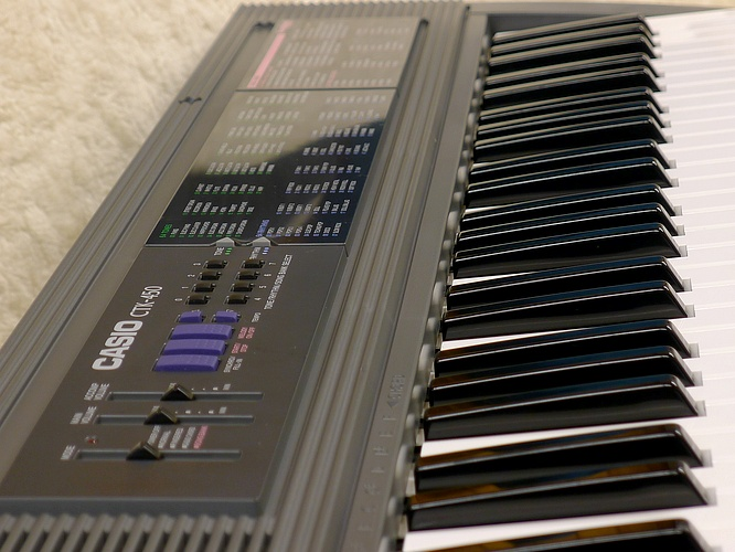 Casio CTK-450 CTK450 by deep!sonic 09.04.2012