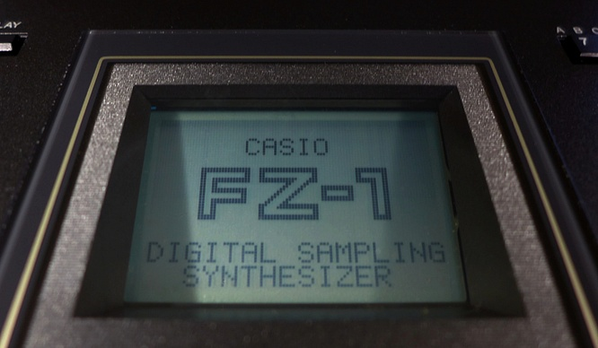 Casio FZ-1 FZ1 Sampler by deep!sonic 01.04.2019