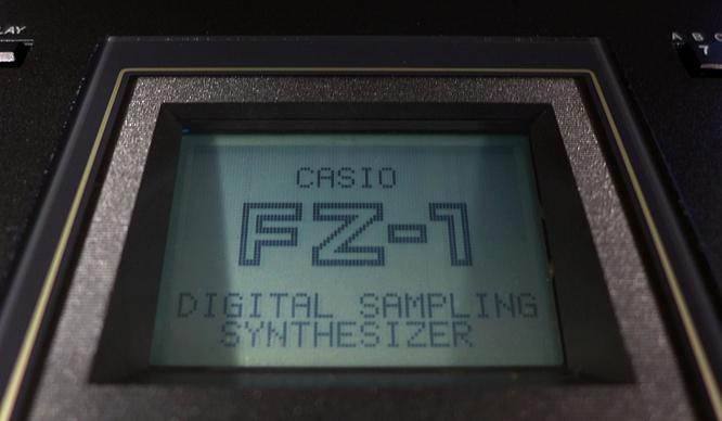 Casio FZ-1 FZ1 Sampler by deep!sonic 01.04.2019