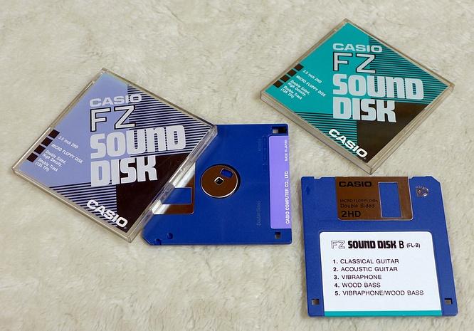 Casio FZ Sound Disk Set 5 and Sound Disk B by deep!sonic 28.03.2019