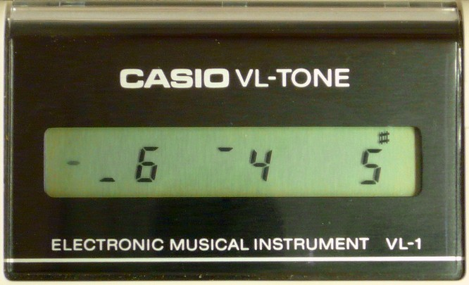 Casio VL-1 VL-Tone by deep!sonic 12.07.2007