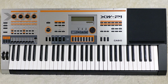 Casio XW-P1 by deep!sonic 11.05.2020