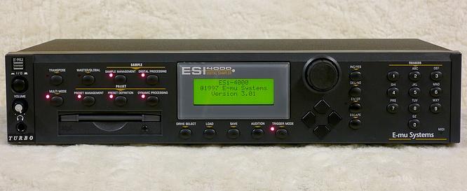 E-mu Esi4000 Turbo Zip by deep!sonic 17.03.2011