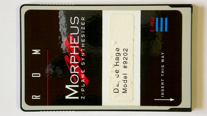E-mu Morpheus Dance Rage Model #9202 Rom Card by deep!sonic 26.02.2009