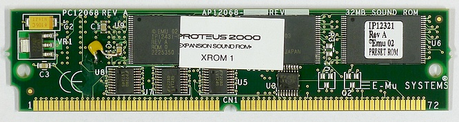 E-mu Emu Expansion Board Simm Rom Xrom 1 (Xtreme-Lead 1) by deep!sonic 10.01.2011