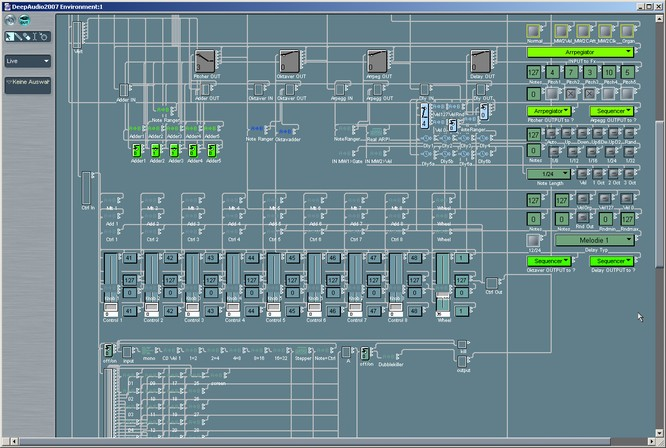 My Logic, MIDI Inputs with Midi effect tools by deep!sonic 02.2007