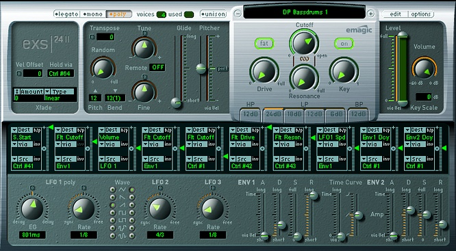 Emagic Apple Logic EXS-24 mkII by deepsonic 12.06.2009