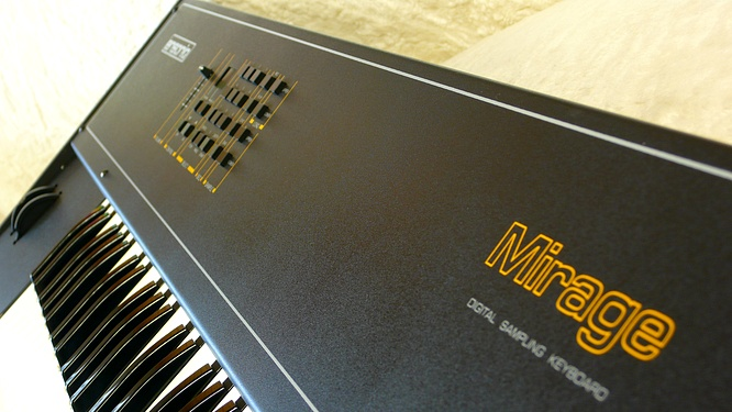 Ensoniq Mirage DSK-8 sn:00167 by deep!sonic 10.08.2010