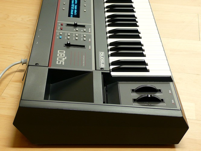 Ensoniq SQ-80 by deep!sonic 11.2008