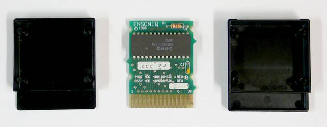 Ensoniq STC-8 RAM Cartridge for Ensoniq ESQ-1 and SQ-80 by deep!sonic 19.12.2009