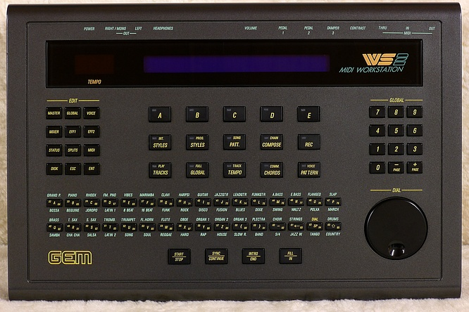 GEM WS2 Midi Workstation Expander by deep!sonic 20.02.2012