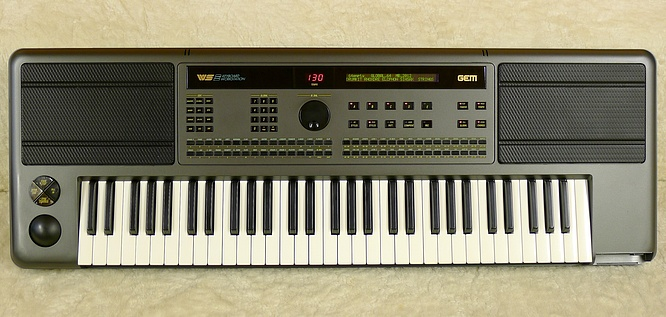 Keyboard Workstation Gem : gem ws2ii keyboard workstation arranger deep sonic ~ Russianpoet.info Haus und Dekorationen