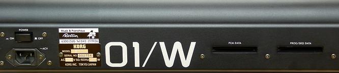 Korg 01/W Korg 01W by deep!sonic 15.05.2008