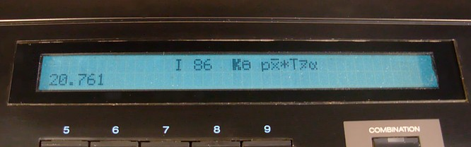 Korg DS-8 Error Display