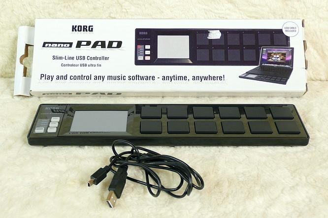 Korg Nano Pad Nanopad black by deepsonic.ch 01.05.2010