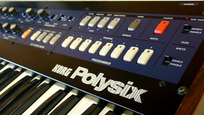 Korg Polysix Midi PS-6 PS6 by www.deepsonic.ch 16.06.2010, thanx for Polysix of Thomas Weyermann