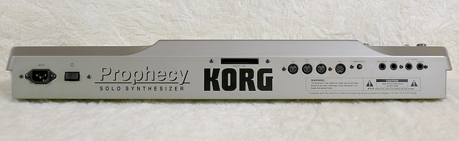 Korg Prophecy SSP-1 by deep!sonic 08.10.2010, thanx to Thomas Weyermann