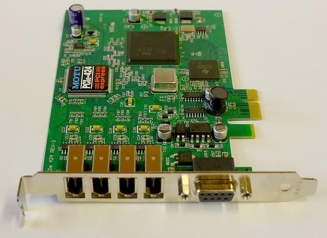 MotU PCIe-424 express Card by deep!sonic 21.08.2014