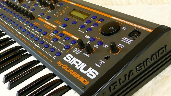 Quasimidi Sirius by deep!sonic 02.03.2010