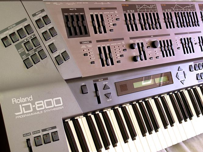 Roland JD-800, Original by deep!sonic 27th Feb. 2005