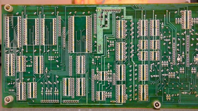 Module Board Backside in Roland Juno-106 Juno106 by deep!sonic 18.01.2009