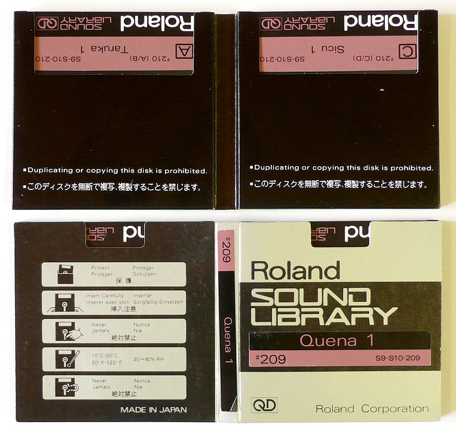 Roland L-120 Quick Disk Ethnic Sounds Vol.8 #206-#210 by deep!sonic 08.03.2009