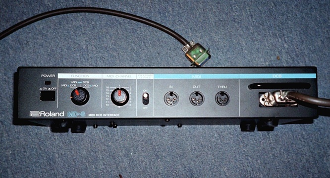 Roland MD-8 MD8 DCB Interface by deep!sonic 06.2002