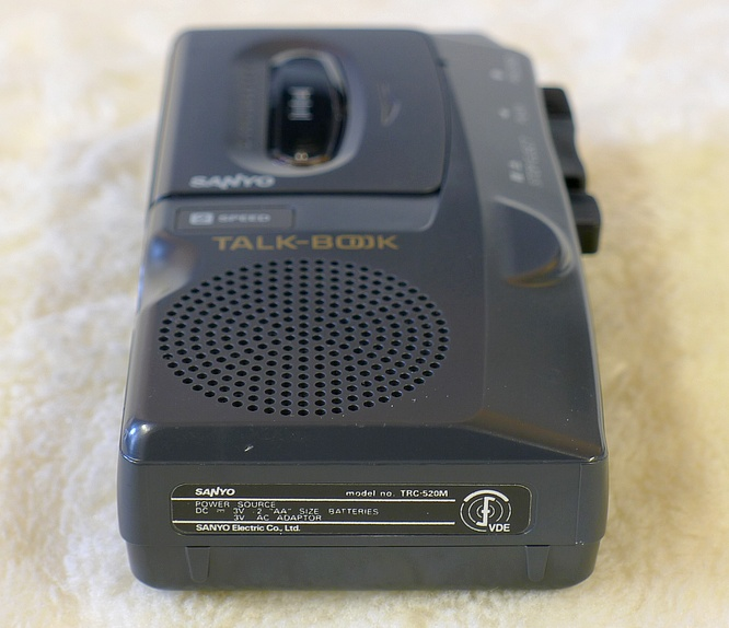 Sanyo TRC-520M Talkbook Dictaphone by deep!sonic 08.05.2011