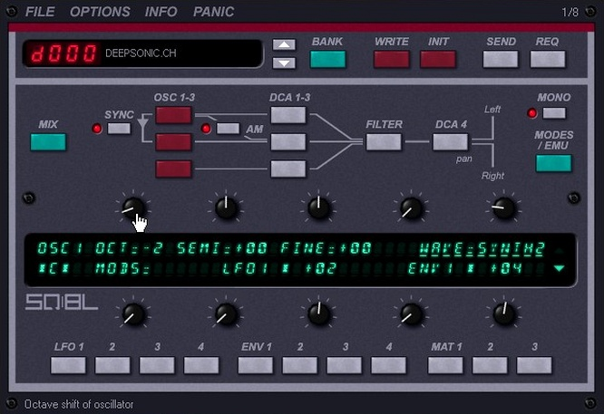 Siegfried Kullmann SQ-8L Ensoniq SQ-80 as VSTi Plugin by deepsonic 19.08.2010