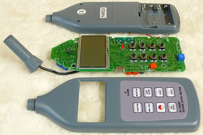 Sound Level Meter SL-5868P by deep!sonic 12.06.2009