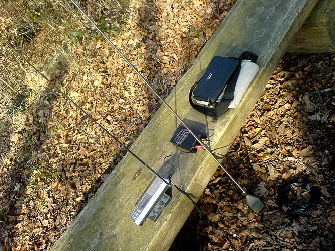 Sony ICF-SW7600GR Shortwave Worldreciver with Sony AN-1 Wide Range Antenna, 03.02.2007 by deepsonic.ch