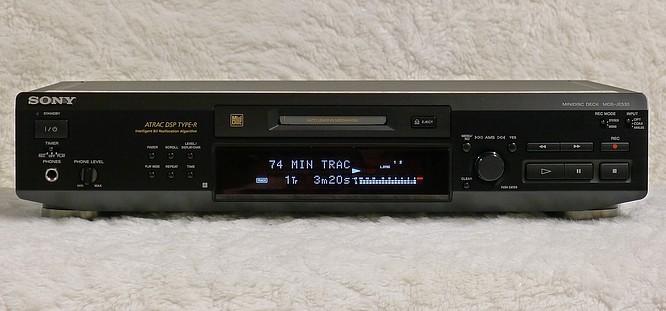 Sony MDS-JE530 Minidisc Deck by deep!sonic 03.03.2014