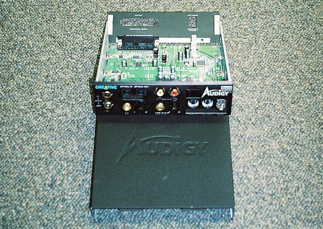 Soundblaster Audigy by www.deepsonic.ch Aug. 2004
