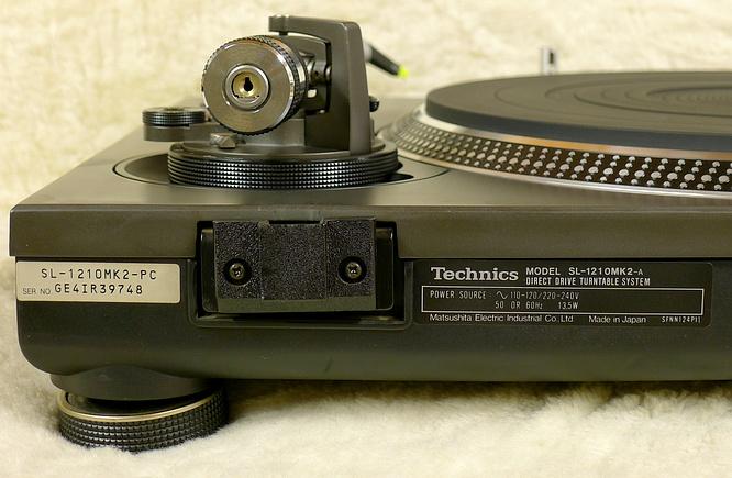 Technics SL-1210mk2 by deep!sonic 07.02.2012
