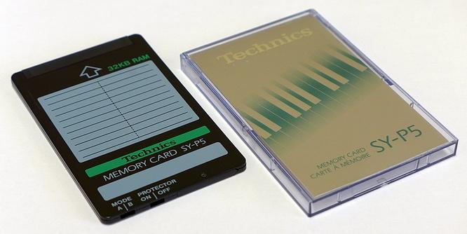 Technics SY-P5 Ram Card by deep!sonic 15.05.2019