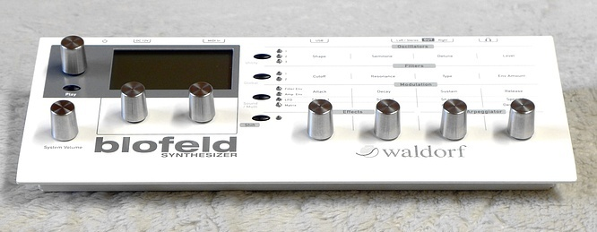 Waldorf Blofeld Desktop Wavetable VA Synthesizer with SL Option by deep!sonic 16.06.2020