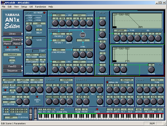 Yamaha AN1xEdit Windows @ deep!sonic 10.09.2009