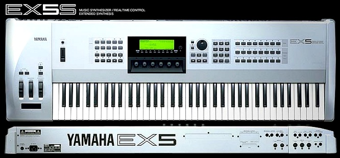 Yamaha EX5S Limited Silver Edition
